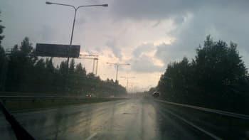 Myrskyinen taivaanranta