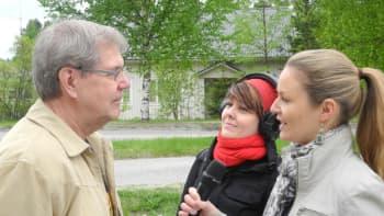Marika ja Heli haastattelevat
