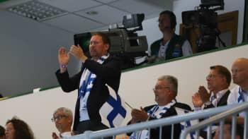 Kulttuuri- ja urheiluministeri Paavo Arhinmäki