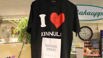I love Kinnula -paita
