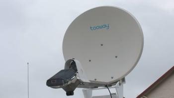Satelliittiantenni.