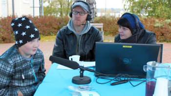 Jasper Piispanen ei ujostellut radiohaastattelussa.