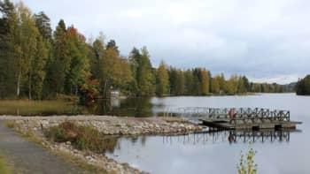 Evijärvi Hallin keskustassa.
