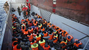 Pakolaisia
