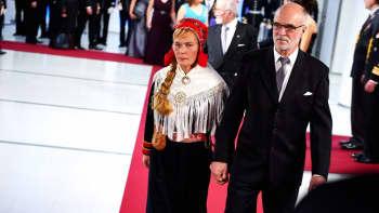 Kirjailija Seppo Saraspää ja vaimo Sinikka Saraspää.