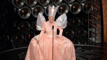 Ellen DeGeneres keijupuvussa.
