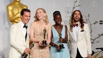 Matthew McConaughey, Cate Blanchett, Lupita Nyong'o ja Jared Leto.