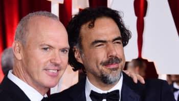 Michael Keaton ja Alejandro Gonzalez Inarritu.