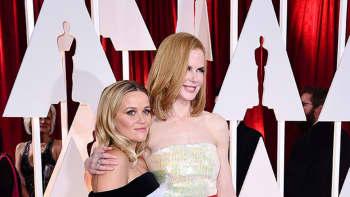 Nicole Kidman (oik.) ja Reese Witherspoon.