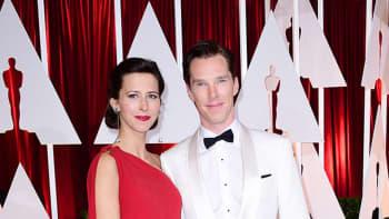 Benedict Cumberbatch ja Sophie Hunter.