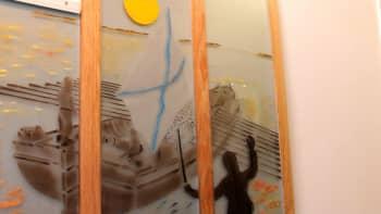 rakennustaidetta lappeenrannassa, taiteilija Jorma Parkkari