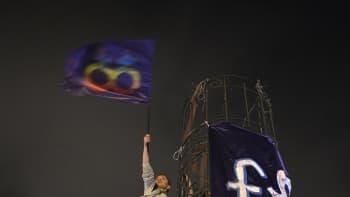 Naisten oikeuksien puolesta osoitettiin mieltä mm. Istanbulissa kansainvälisenä naistenpäivänä.