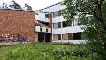 Mäntylän sairaalan 60-luvun rakennus