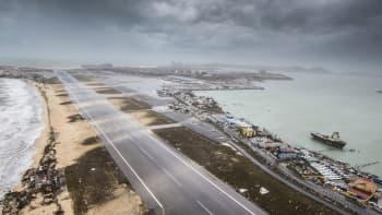 Hollannin puolustusvoimien välittämä kuva Sint Maartenilta Philipsburgista hurrikaani Irman jäljiltä 6. syyskuuta.