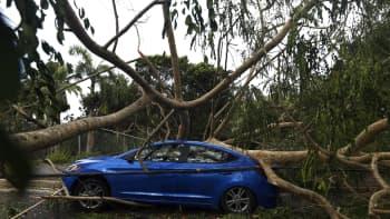Hurrikaani Irman tuhoja San Juanissa, Puerto Ricossa 7. syyskuuta.