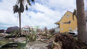 Irman tuhoja Orient Bayn alueella Saint-Martinin saarella 7. syyskuuta.
