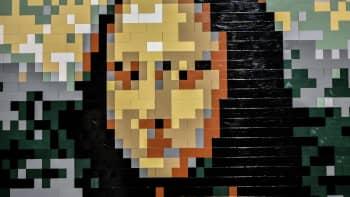 Nathan Sawaya, Art of the Brick, lego, Leonardo da Vinci, Mona Lisa