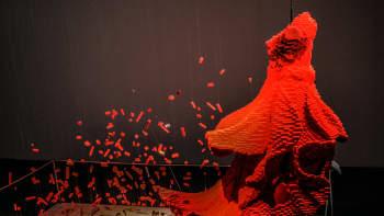 Nathan Sawaya, Art of the Brick, lego, lego-puku