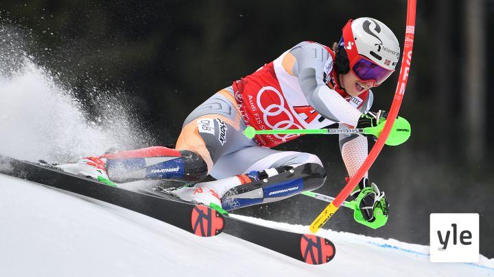 Alppihiihdon MC: Kranjska Gora, miesten pujottelun 2. lasku: 14.03.2021 14.40