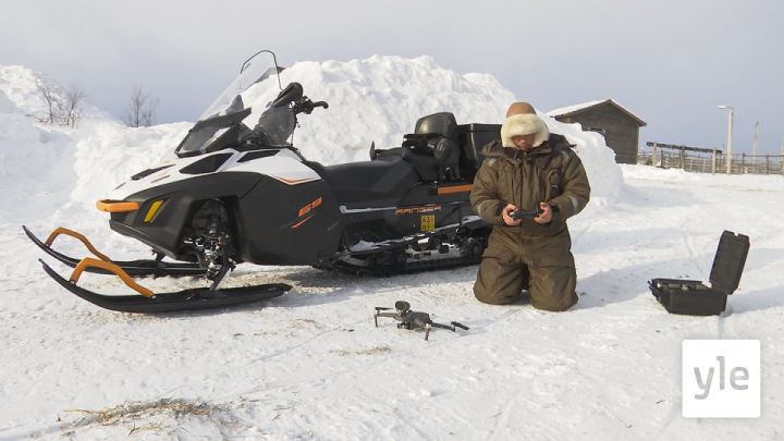 Drooni on poromiehen uusi työkalu: 19.03.2021 09.30