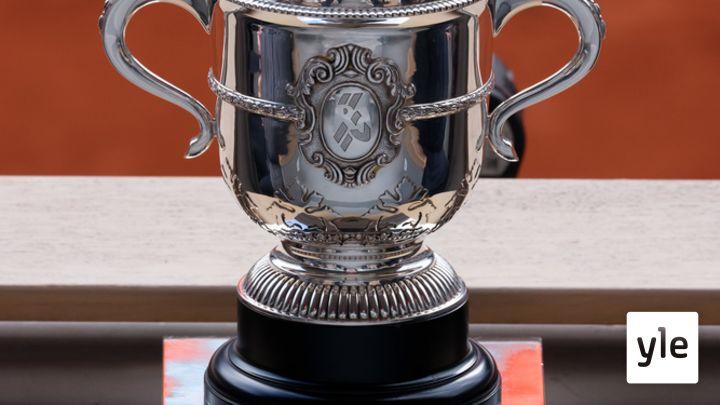 Tenniksen Ranskan avoin turnaus: 12.06.2021 18.49