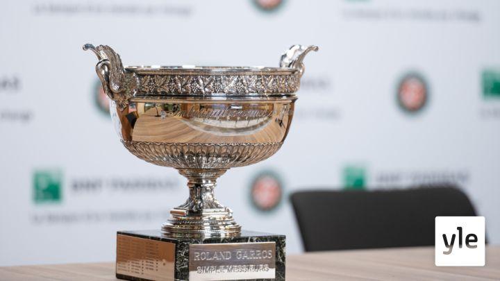 Tenniksen Ranskan avoin turnaus: 13.06.2021 20.56