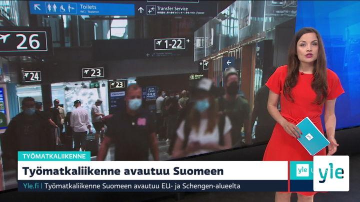 Yle Uutiset 9.00: 21.06.2021 09.21