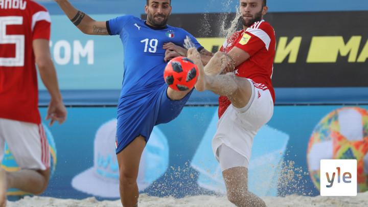 FIFAn jalkapallon beachfutiksen MM: MEX - ITA: 25.11.2019 22.20