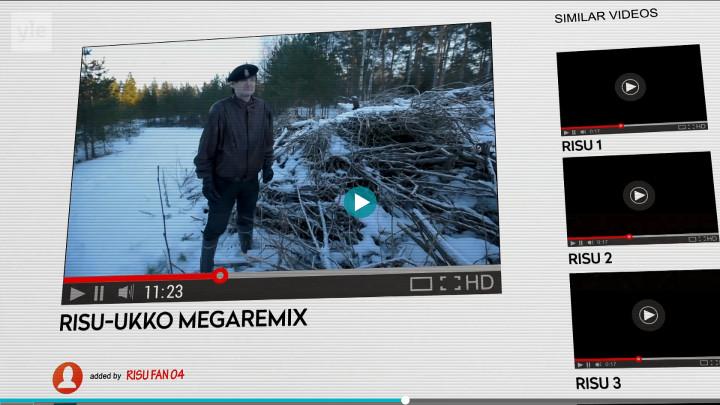 Jormasta tuli Risumies ja netti-ilmiö tahtomattaan: 17.08.2018 12.50