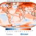 Maapallon ilmaston lämpötila vuonna 2020.