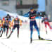 Ilkka Herola loppusuoralla Val di Fiemmessä. Herola on jättänyt yhdeksän kanssakilpailijaa taakseen ja ottamassa toisen sijan.