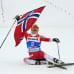 Löytyykö Oberstdorfin MM-kisoissa pysäyttäjää Therese Johaugin voittomarssille?