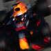Max Verstappen vauhdissa Bahrainin radalla
