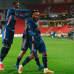 Alexandre Lacazette juhlii maalia.