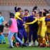 Barcelona juhlii cupin voittoa.