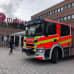 Paloauto Mediapoliksen edessä