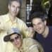 Beastie Boysin kolme jäsentä.