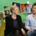 Toimittajat Eve Väyrynen ja Sean Ricks.
