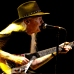 Johnny Winter esiintyi San Javier Jazz International -festivaalilla Murciassa, Espanjassa, 18 Heinäkuuta 2008.
