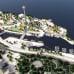 Havainnekuva Särkänniemen alueen yleissuunnitelmasta
