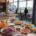 Ravintola Sandro Kampin viidennen kerroksen ravintolakeskittymässä.