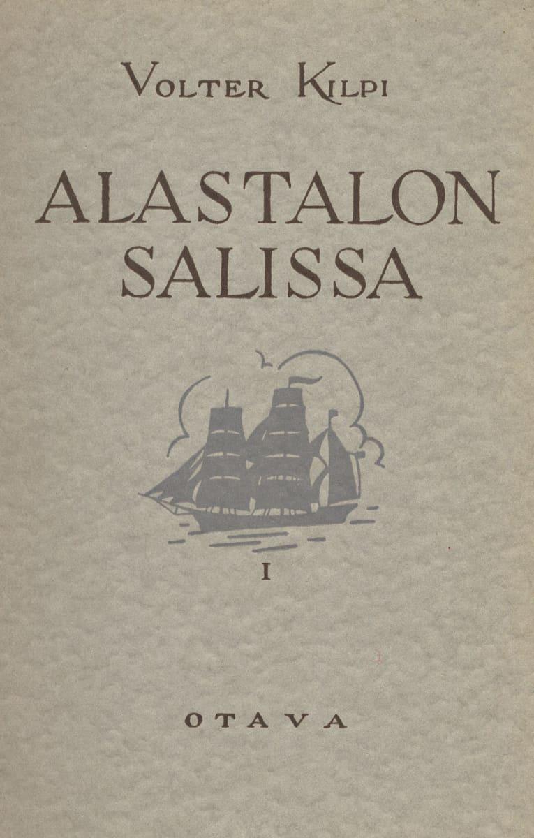 Volter Kilven Alastalon salissa kansi.