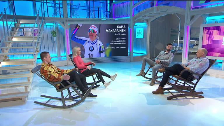 Uransa lopettanut Kaisa Mäkäräinen sai vinkkejä Sami Jauhojärveltä, Janne Ahoselta ja Kalle Palanderilta – ampumahiihtotähti kuittasi kylmästi