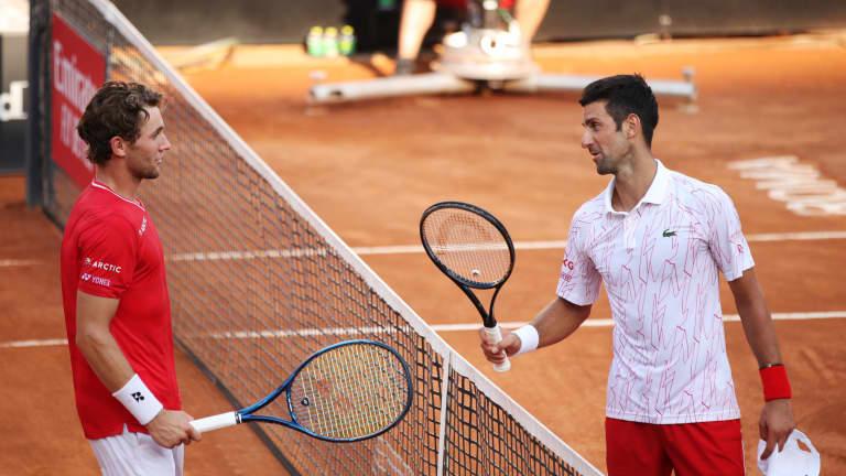 Norjan tennistähti yltää yhä kovempiin saavutuksiin  antoi...