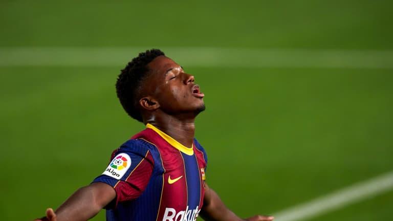 Koemanin aika Barcelonassa alkoi vakuuttavalla voitolla  Ansu...