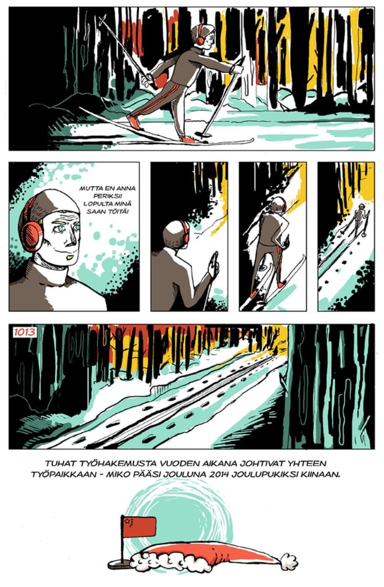 Silminnäkijä - Mikon tarina, sivu 12