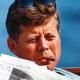 John F. Kennedy Hyannis Portissa, Massachusettsissa elokuussa 1962.