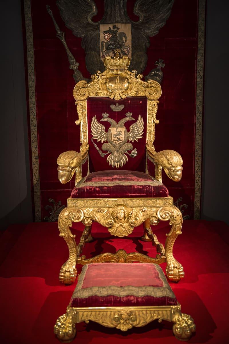 Aleksanteri II, valtaistuin, Kansallismuseo