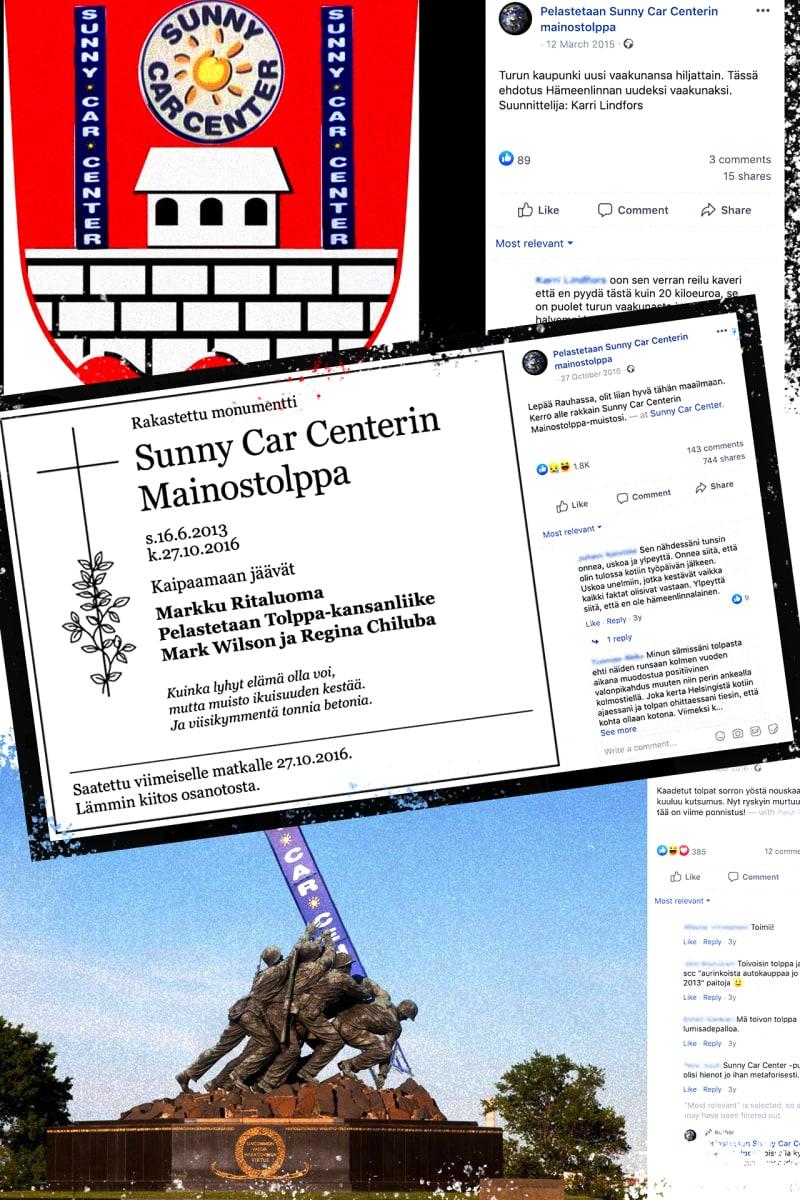 Sunny Car Center -meemit / Yle Mediadeski