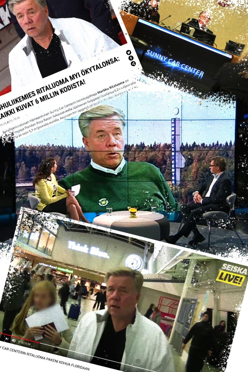 Sunny Car Center Ritaluoma / Yle Mediadeski